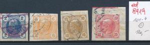Österreich  Nr.  101-4   o  (ed8919  ) siehe scan