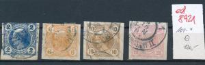 Österreich  Nr.  101-4   o  (ed8921  ) siehe scan