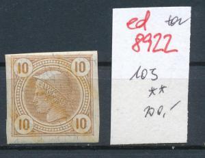 Österreich  Nr.  103 **   (ed8922  ) siehe scan