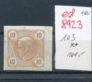 Österreich  Nr.  103 **   (ed8923  ) siehe scan