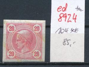 Österreich  Nr.  104 **   (ed8924  ) siehe scan