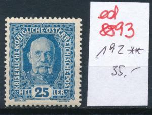 Österreich  Nr.  192  **   (ed8893  ) siehe scan