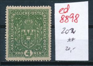 Österreich  Nr.  202 **   (ed8898  ) siehe scan
