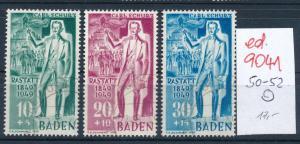 Baden  Nr.  50-52   o   (ed9041  ) siehe scan