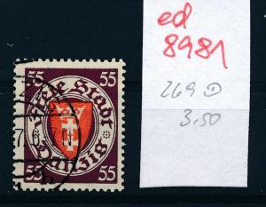 Danzig Nr.  269  o  (ed8981  ) siehe scan