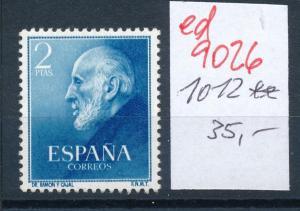 Spanien Nr. 1012 **   (ed9026  ) siehe scan