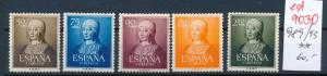 Spanien Nr. 989-937 **   (ed9030  ) siehe scan
