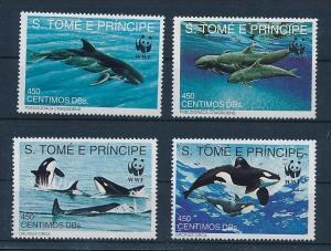 Fische St.Tome WWF    **        (bc8690  ) siehe scan !