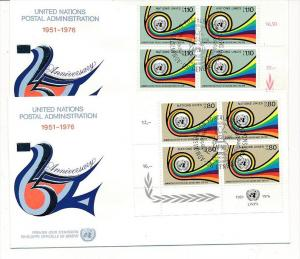 UNO  Genf -FDC  4x60-1 Tab.  (bc5993 ) siehe scan !!