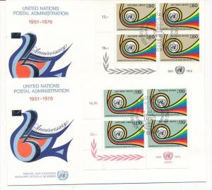 UNO  Genf -FDC  4x60-1 Tab.  (bc5994 ) siehe scan !!