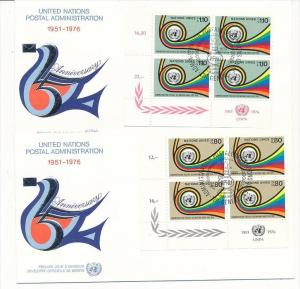 UNO  Genf -FDC  4x60-1 Tab.  (bc5996 ) siehe scan !!
