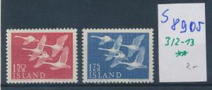Island  Nr. 312-13   **  ( s 8905  ) siehe scan  !
