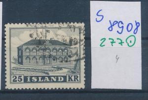 Island  Nr. 277    o  ( s 8908  ) siehe scan  !