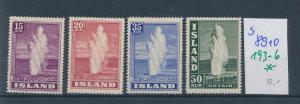 Island  Nr. 193-6    *  ( s 8910  ) siehe scan  !