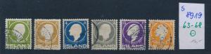 Island  Nr.  63-8    o ( s 8919  ) siehe scan  !