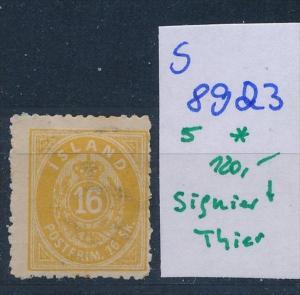 Island  Nr.  5  * ( s 8923  ) siehe scan  !