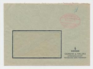Zonen  -Gebühr bezahlt-Mannheim   -  Beleg  (g1157 ) siehe scan....