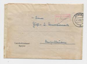 Zonen  -Gebühr bezahlt- Speyer     (g1028 ) siehe scan....