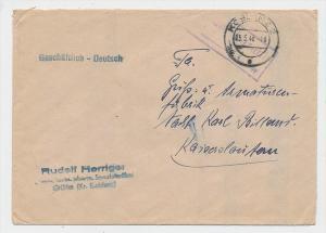 Zonen  -Gebühr bezahlt- Koblenz    (g1031 ) siehe scan....