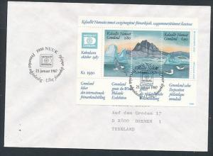 Grönland  Sammler Beleg    (ze4339   ) siehe Bild !