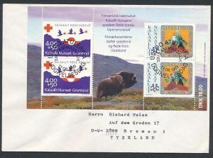 Grönland  Sammler Beleg    (ze4338   ) siehe Bild !