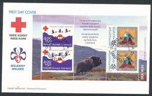 Grönland  Sammler Beleg    (ze4337   ) siehe Bild !