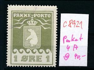 Grönland  Nr.  P 4A   o (c8921  ) siehe scan