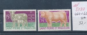 St.Pierre    Nr.  464-65  **     (ed5133  ) siehe scan