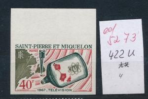 St.Pierre   Nr.  422 U  **     (ed5273  ) siehe scan