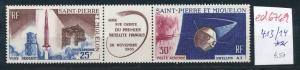 St. Piere   Nr.  413-14 ** ....   (ed6769  ) siehe scan