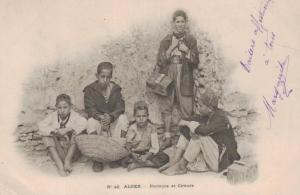 Algier alte Karte  ....(ke9119   ) siehe scan