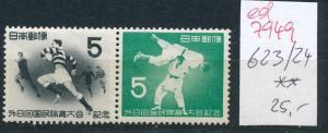 Japan  Nr. 623-4    **  ....(ed 7949 ) siehe scan