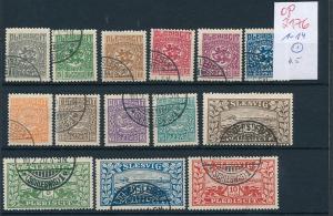 Schleswig  1-14  o    (op2176  ) siehe scan