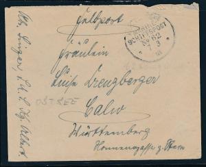 D.-Reich  kaiserliche Mariene Beleg.....   (op2253  )  siehe scan
