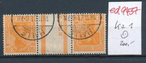 D.-Reich Zdr.  kz 1   o ....   (ed9437  ) siehe scan