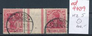 D.-Reich Zdr.  kz  5   o ....   (ed9439  ) siehe scan