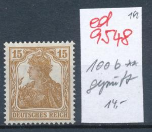 D.-Reich Nr. 100 b ** geprüft   (ed9548  ) siehe scan
