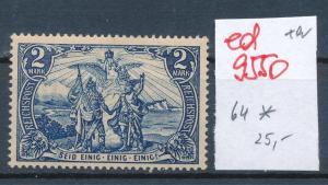 D.-Reich Nr. 64 *   (ed9550  ) siehe scan