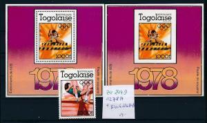 Togo   Lot  1278 + Block 126 A+B    ....   **. ....  (zu2449  ) siehe scan