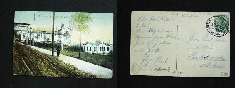 MEERANE Zwickau - Ferienkolonieheim d. Fechtschule Fechten