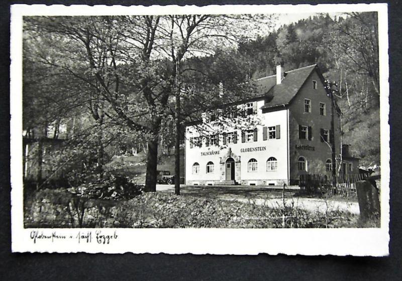GLOBENSTEIN Erzg. Breitenbrunn - Foto-AK - Talschänke Nr. 265699766 ...