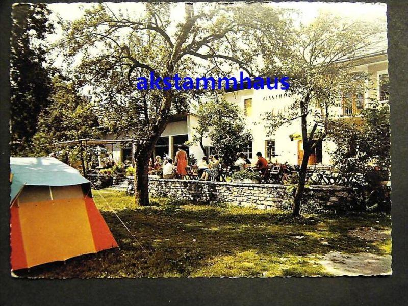 HERMAGOR Gailtal - Vellach - SCHLUGA Camping Zelt Gasthof