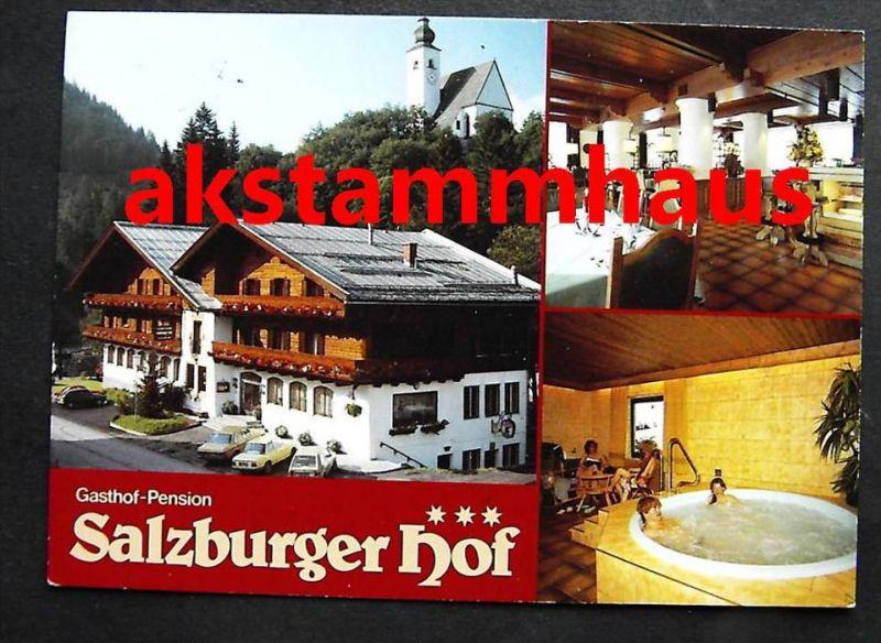 DIENTEN Salzburg - Gasthof SALZBURGER HOF + innen - Fam. BACHER - Wirlpool
