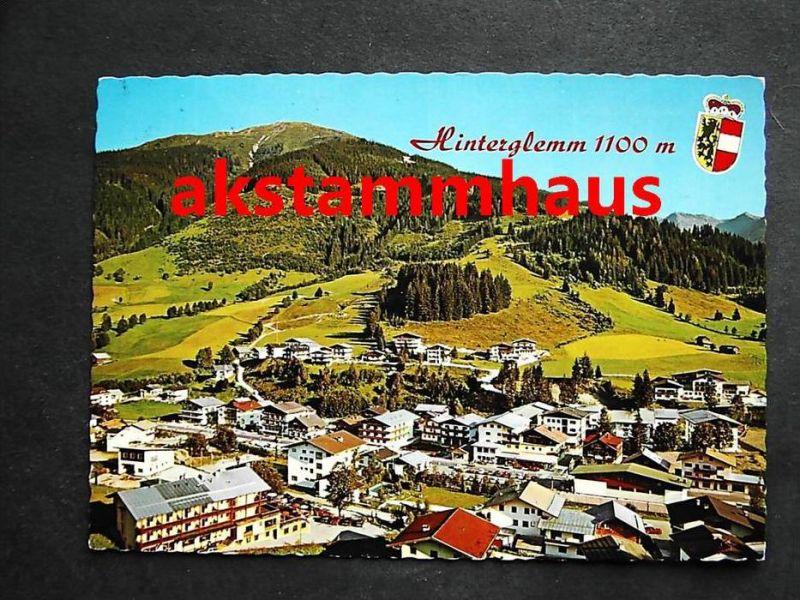 SAALBACH HINTERGLEMM Salzburg -  Ortspartie m. Schattberg Westgipfel - Autos