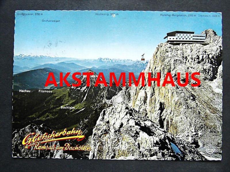 RAMSAU AM DACHSTEIN Steiermark - Bergstation am Hunerkogel Gletscherbahn Seilbahn