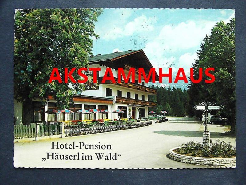 GRÖBMING Liezen Steiermark - Hotel Pension HÄUSERL IM WALD - K. u. H. SCHUPFER