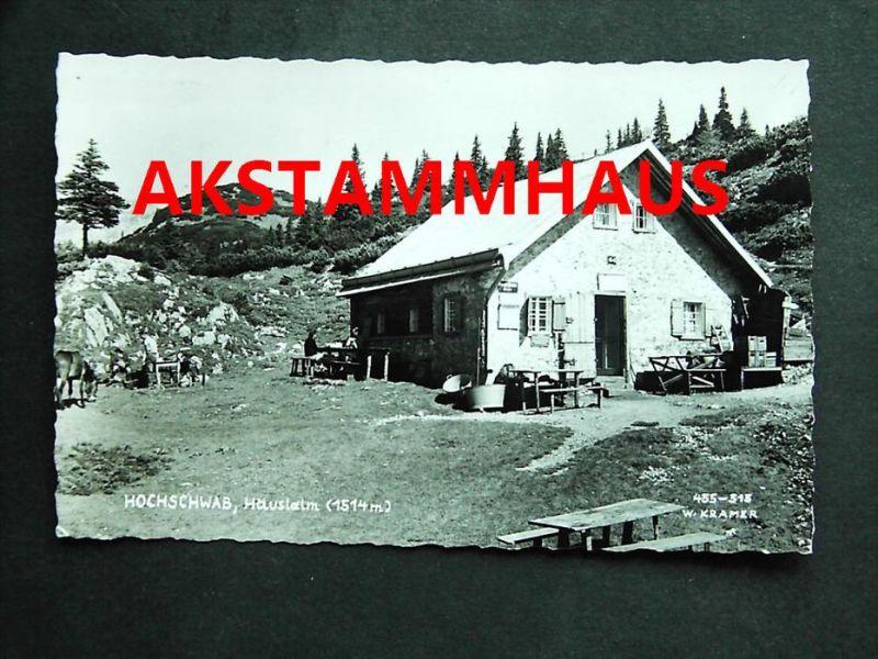 THÖRL Aflenz Bruck Mürzzuschlag Steiermark - Foto-AK - HÄUSLAM auf Hochschwab - 1963