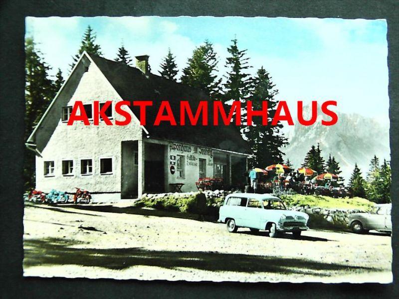 SEEWIESEN Turnau Bruck Mürzzuschlag Steiermark - Alpenhaus am Seeberg geg. Dullwitz - F. SCHUSTER  - Autos Motorräder