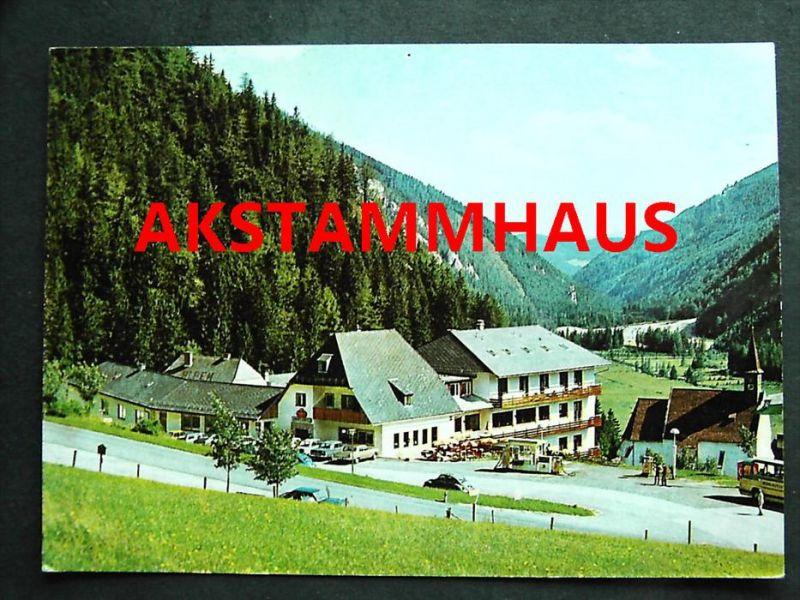 SEEWIESEN Turnau Bruck Mürzzuschlag Steiermark - Sporthotel SCHUSTER  - Autos Autobus Tanksäule Tankstelle
