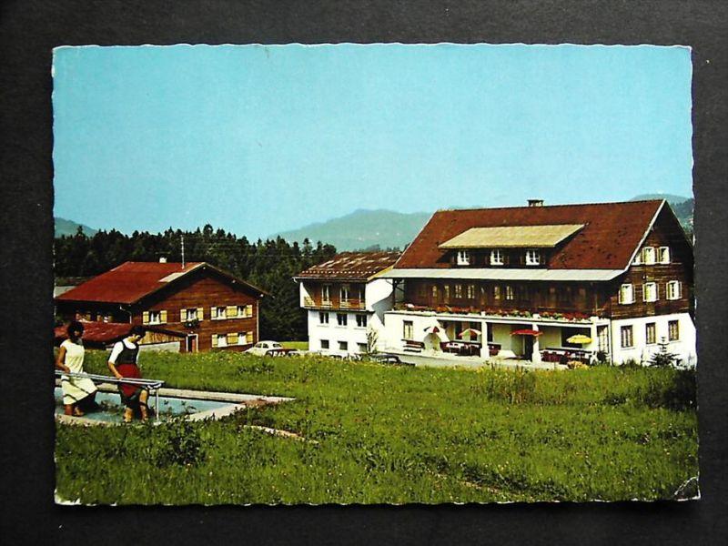 KRUMBACH Bregenzer Wald Bregenz Vorarlberg - Kneippkurhaus BAD ROSSBAD - 1968